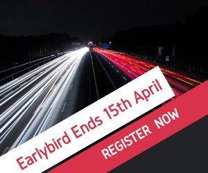 Earlybird Ends 15th April Register Now