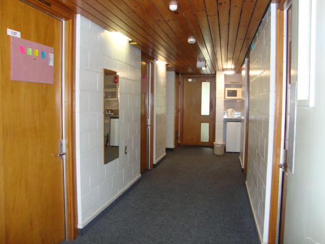 Student Village Hallway