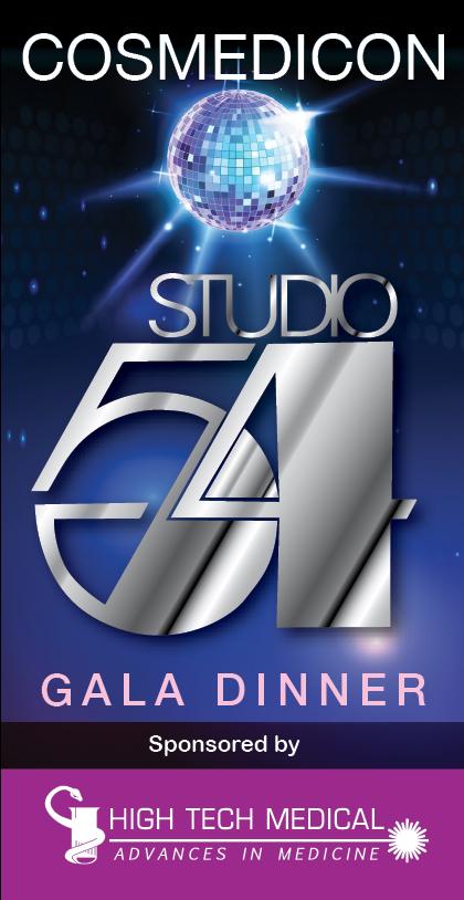 High Tech Medical, Studio 54 Gala Dinner