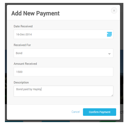 Record Any Payment