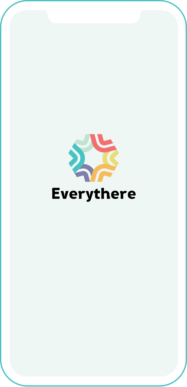 Everythere app icon display