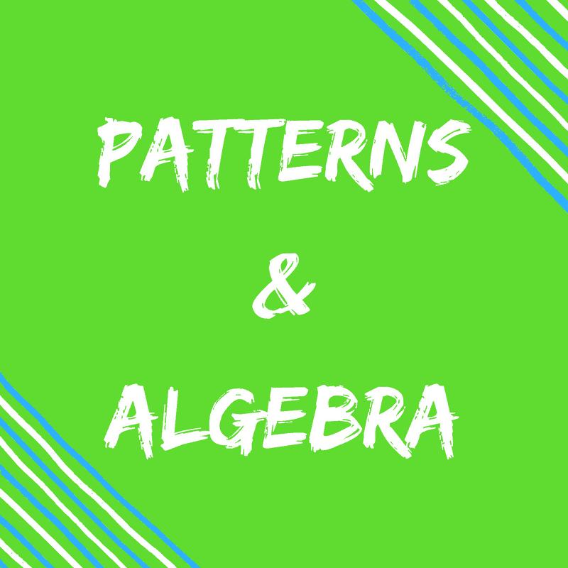 Patterns & Algebra Pinterest Boards