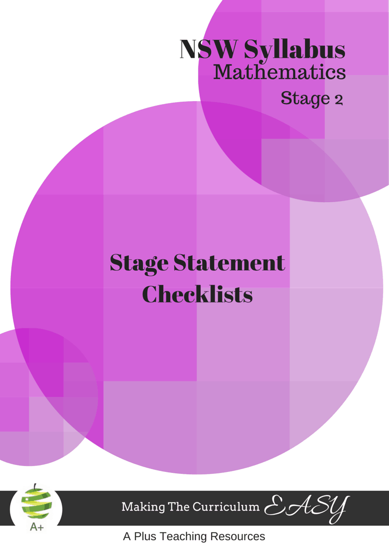 NSW Stage Statement Mathematics Stage 2