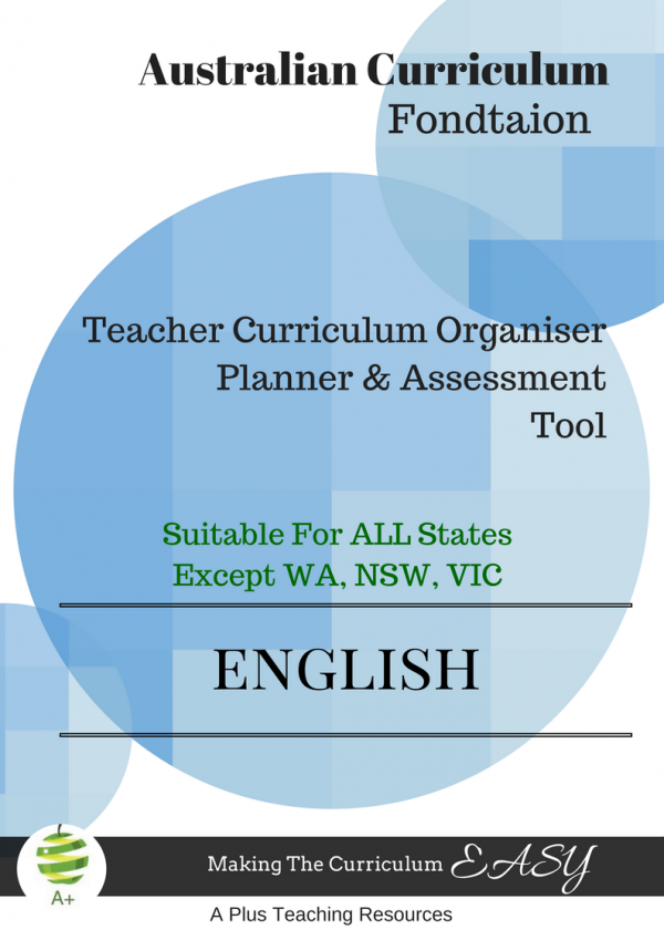 Teacher Organiser English