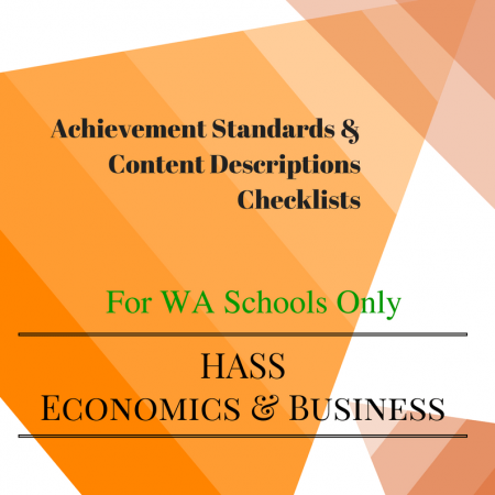 Economics and business WA year 6