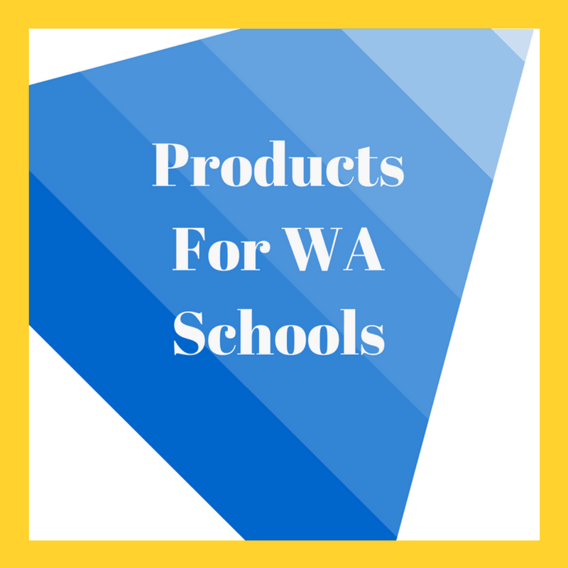 Products For WA Schools