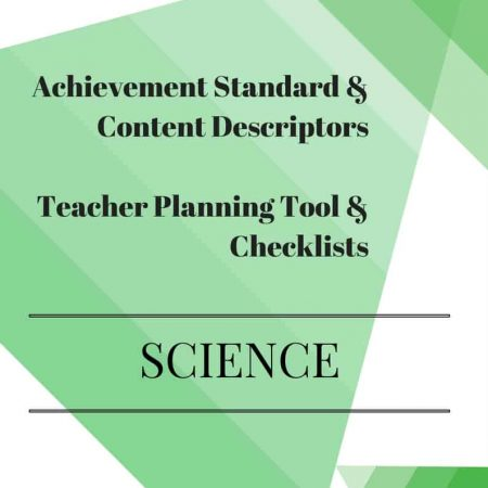 Y3 Editable Science Checklists