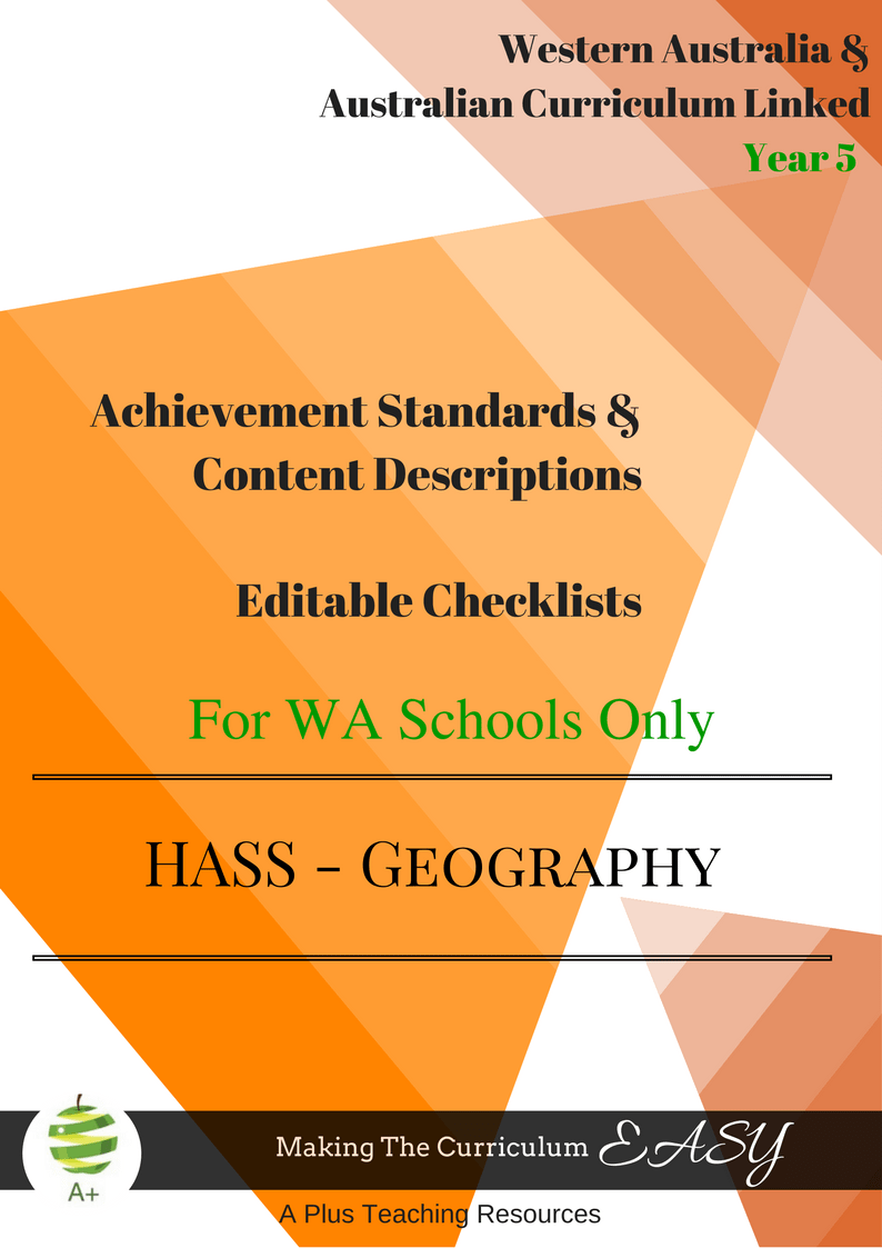 Year 5 HASS WA Curriculum