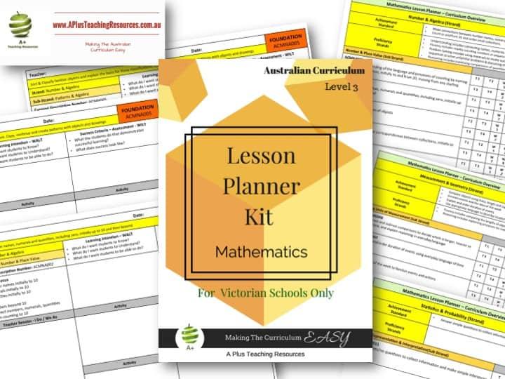 Level 3 Maths Victorian Curriculum