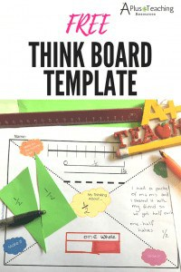 Think Board Printable