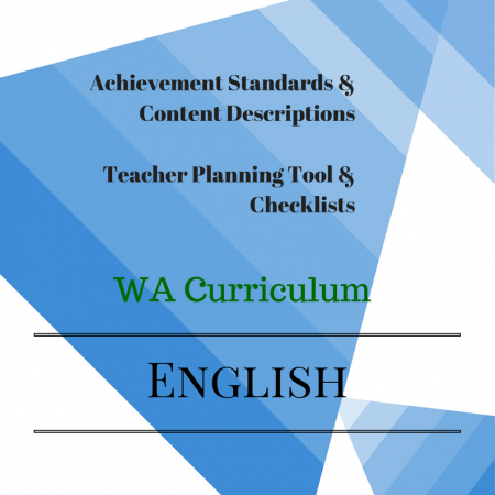 English Checklists Year 2 WA