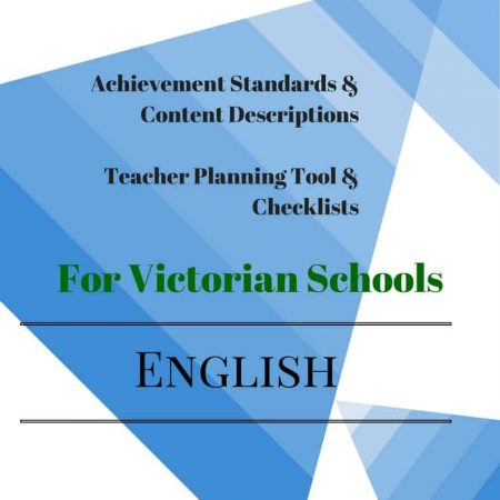 Victorian Curriculum Level 4 English Checklists