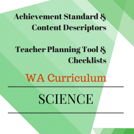 Science Checklists Year 4 WA