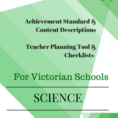 L3 - La Science checklists Victorian Curriculum