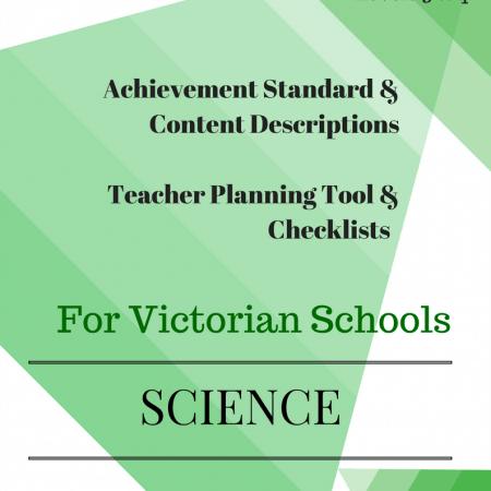 L3 - La Science checklists Victorian Curriculum