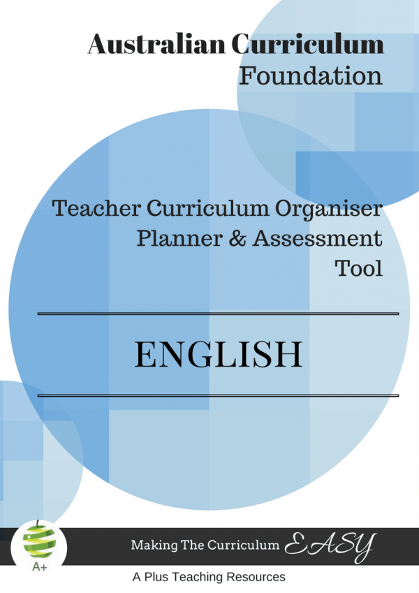 Australian Teacher Planner