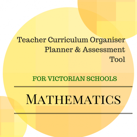 Victorian Curriculum Organiser Level 2