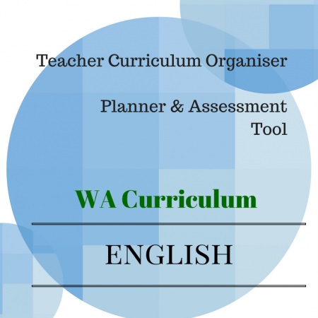 Year4 English Organiser WA