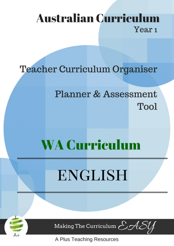 English curriculum organiser WA