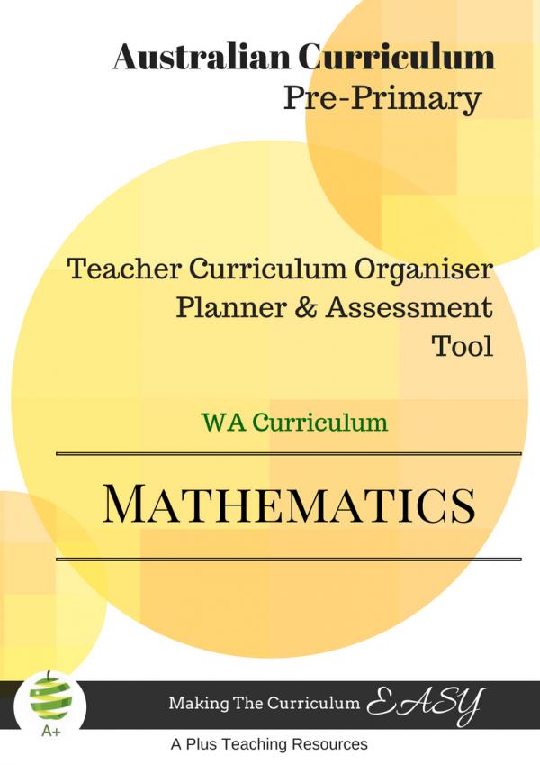 WA Math Organiser Foundation