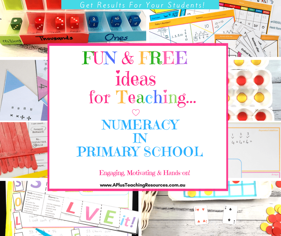Ideas For Teaching Numeracy