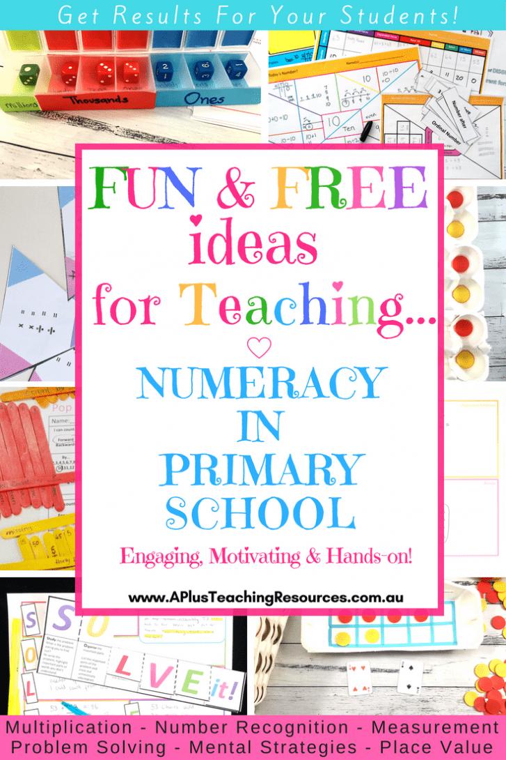 Teaching Numeracy in Primary School