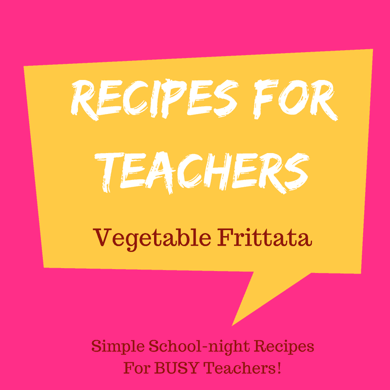 Easy Vegetable Frittata Recipe