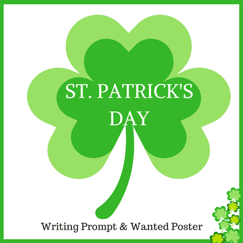 St Patricks Day Writing Prompt {FREE Printables}