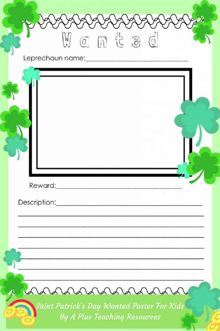 St. Patricks Day Writing Prompt