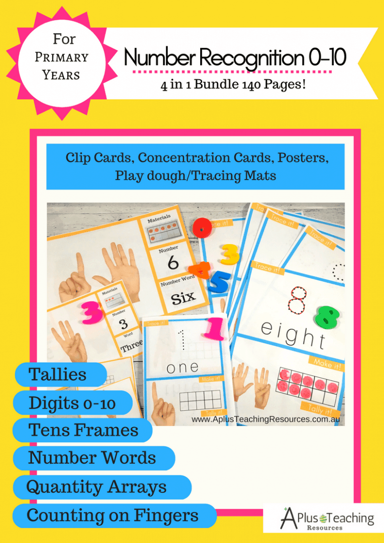 Number Recognition Bundle