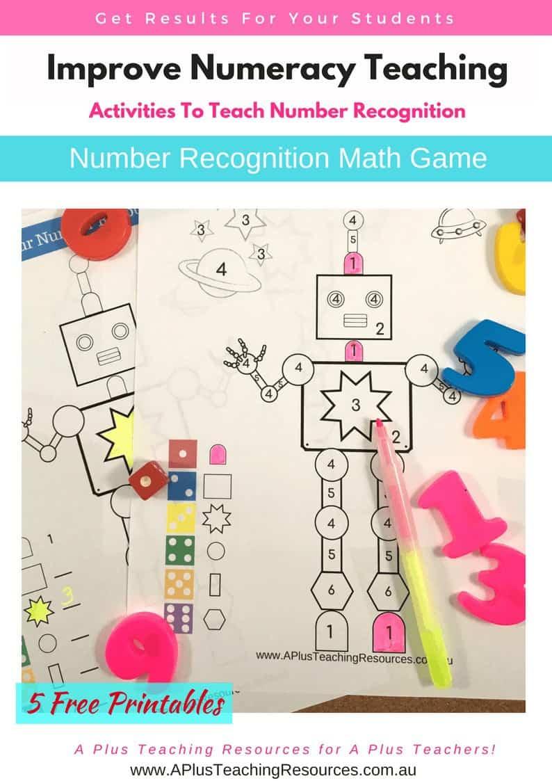 Robot Colouring Math Game