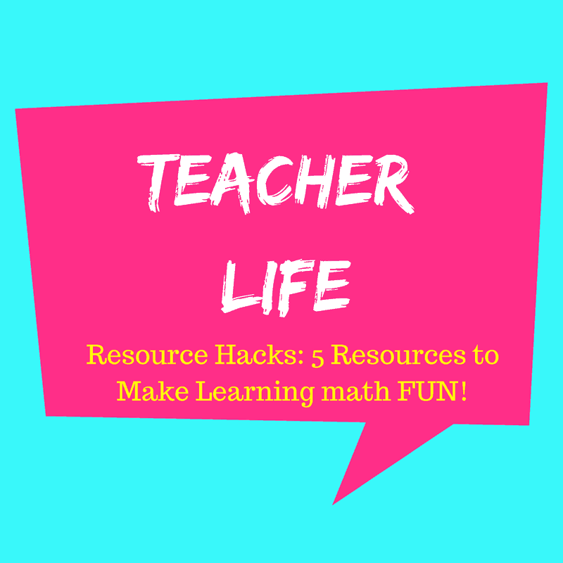 5 Resources To Make Learning Math Fun