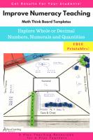 Math think Board Templates
