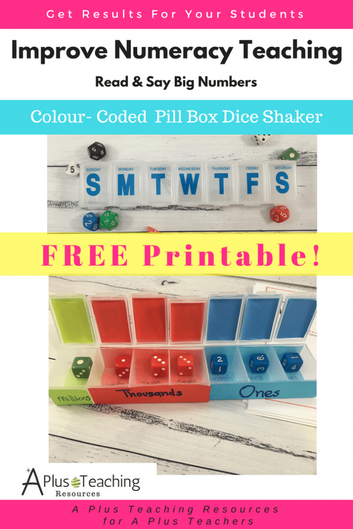 Colour Coded Dice Shaker