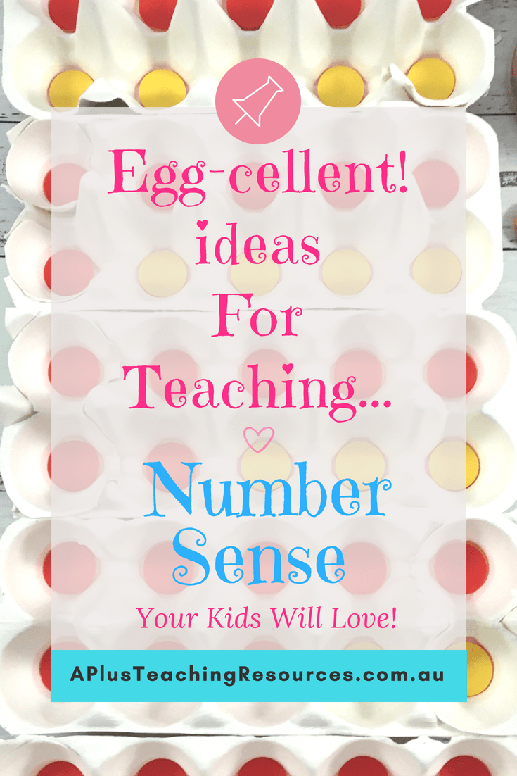 Eggcellent ideas for teaching number sense