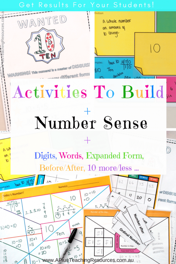 Math Activities To Build Number Sense