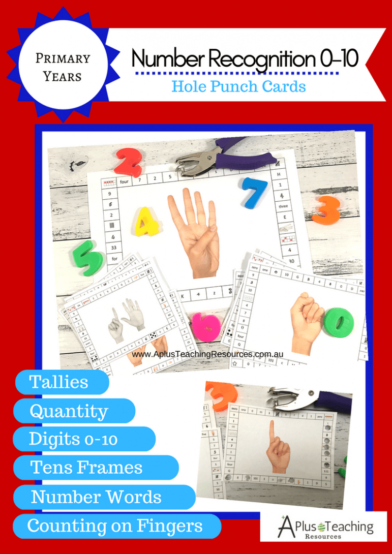 0-10 Hole Punch Cards