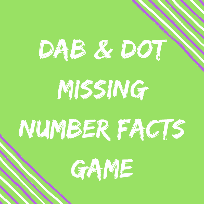 dab and dot number facts
