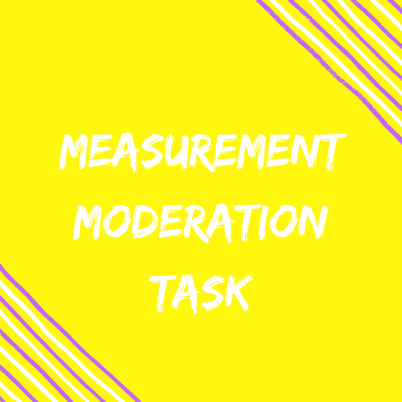 Measurement task