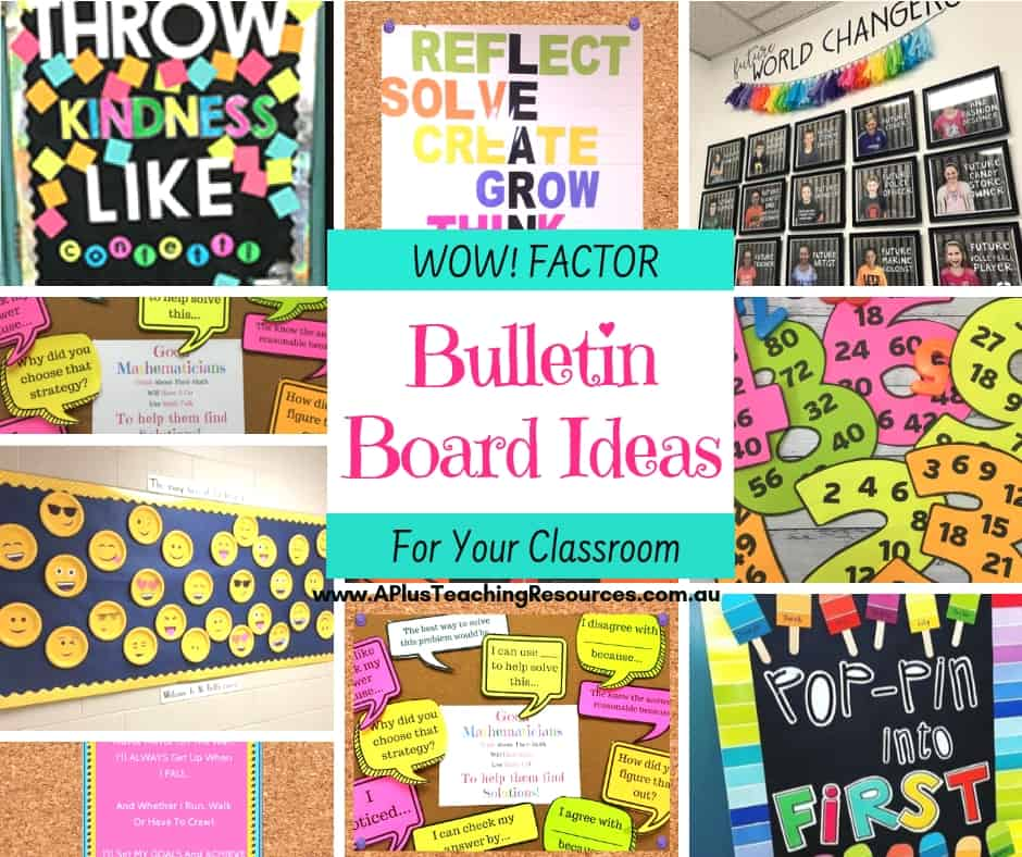 WOW Factor Back-To-School Bulletin Board Ideas For Teachers