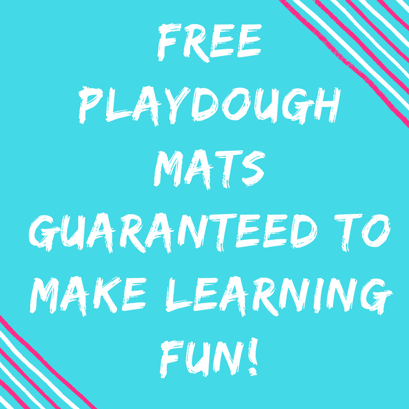 FREE Playdough Mats Guaranteed To Make Learning Fun!