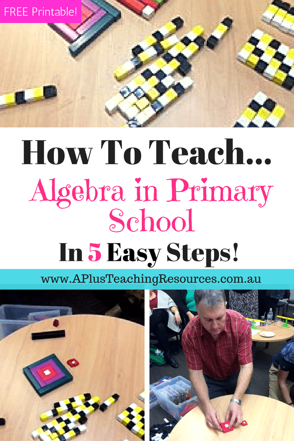 Teaching Algebra Top 5 Tips