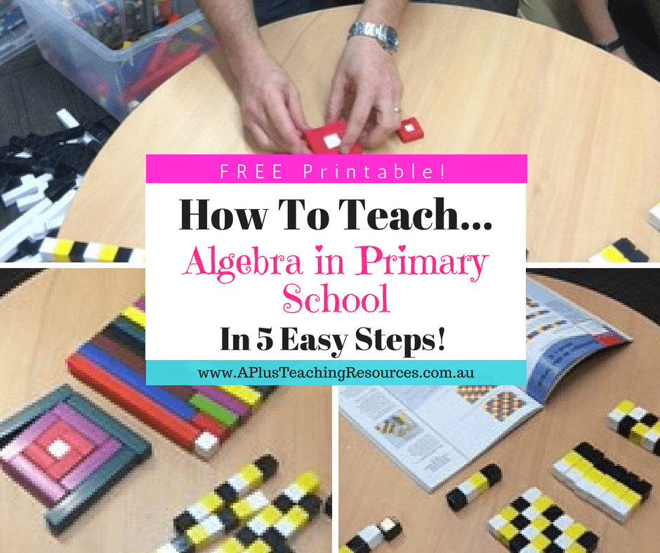 How To teach algebra in Primary School