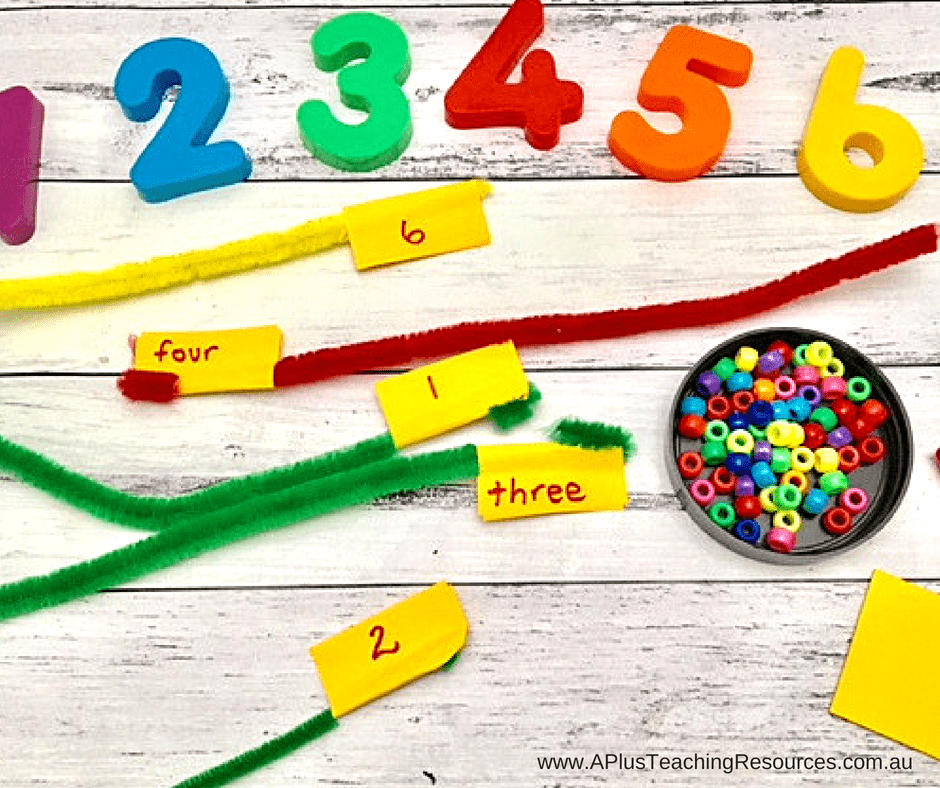 Pipe Cleaner Number Recognition