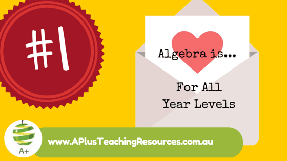 Tip 1 For Teaching Algebra in Primary School