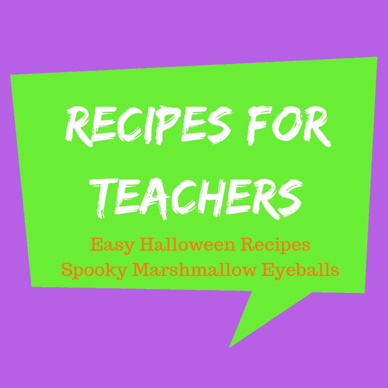 Easy Halloween Recipes – Spooky Marshmallow Eyeballs