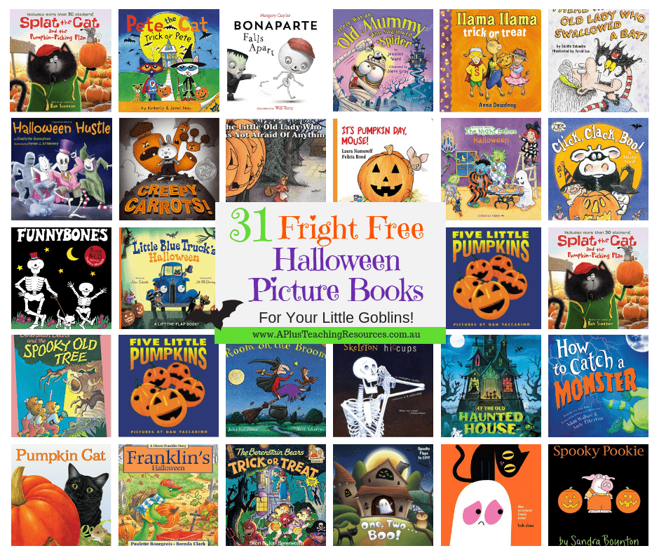 31 Fright Free Halloween Picture Books For Little Goblins!