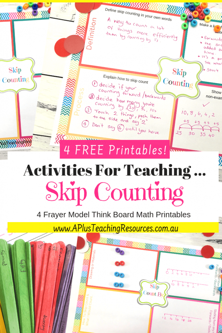 Teaching Skip Counting
