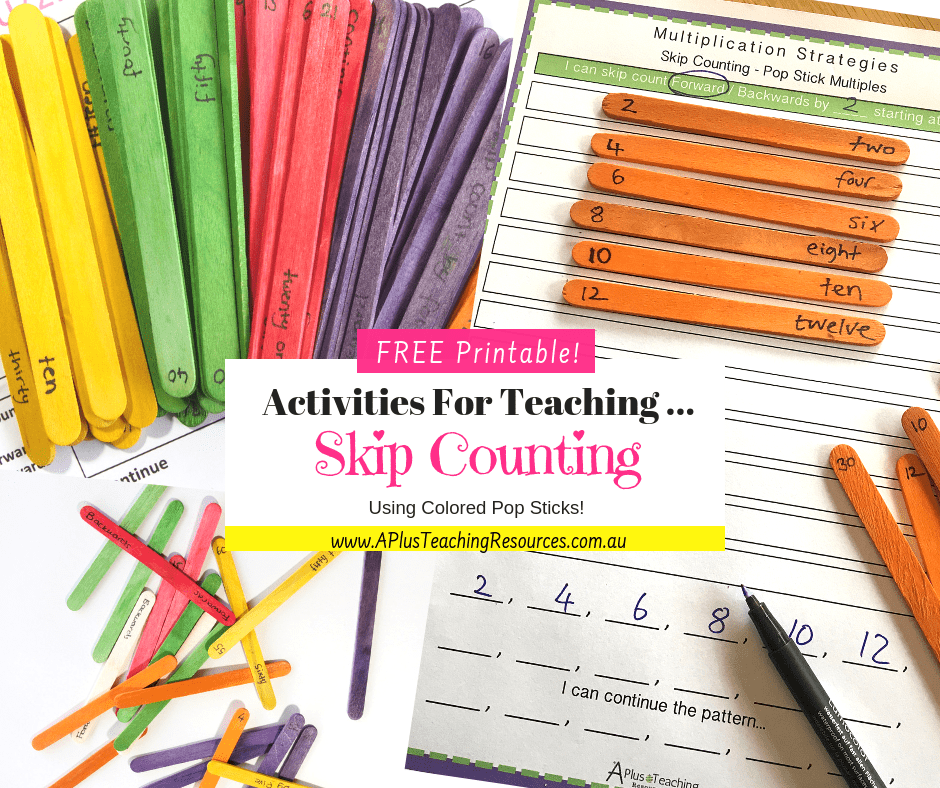 Free Skip Counting Printable Number Games A Plus