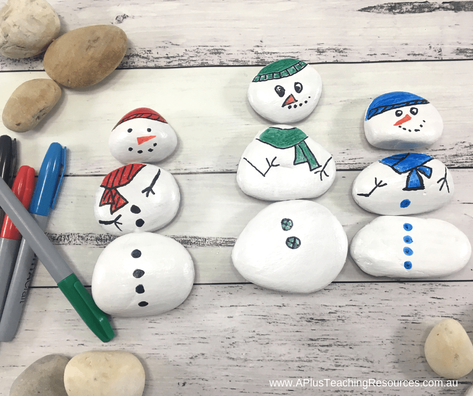 Build a colour matched snowman